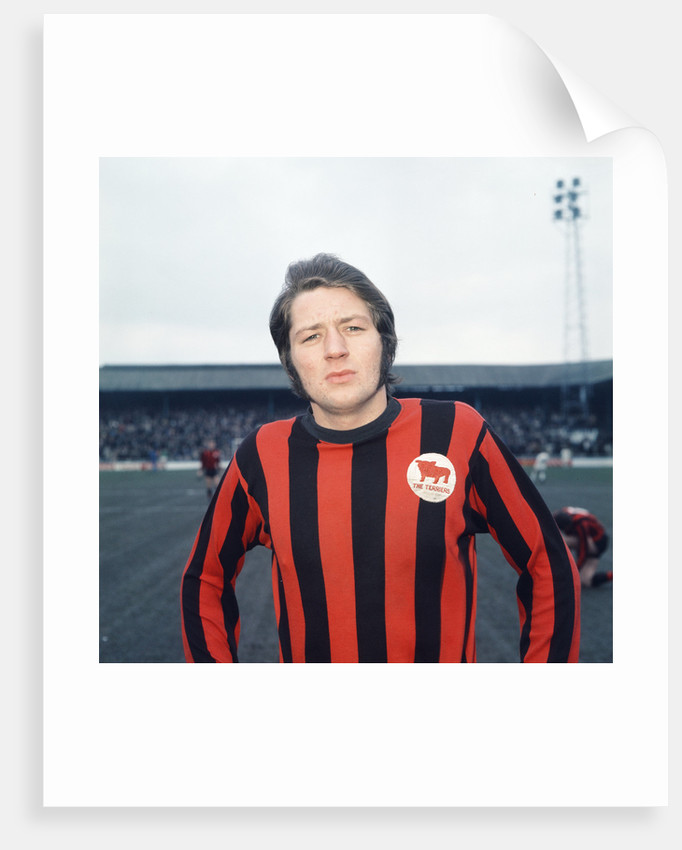Huddersfield Town footballer Frank Worthington.February 1970. by Staff