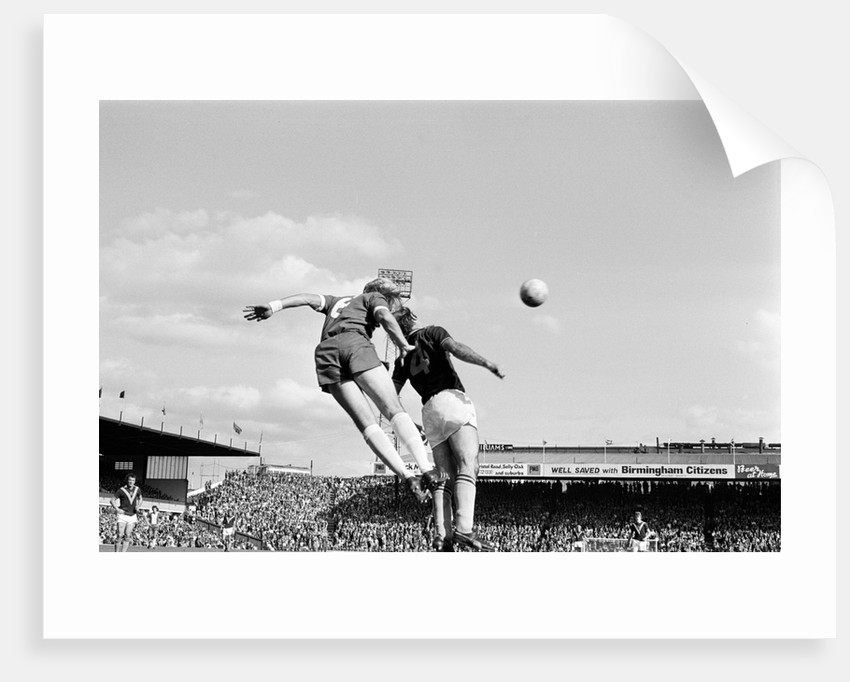 Birmingham City v Burnley 1975 by Birmingham Post and Mail Archive
