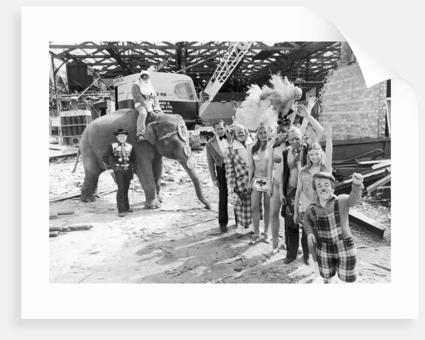 Belle Vue Circus by Staff