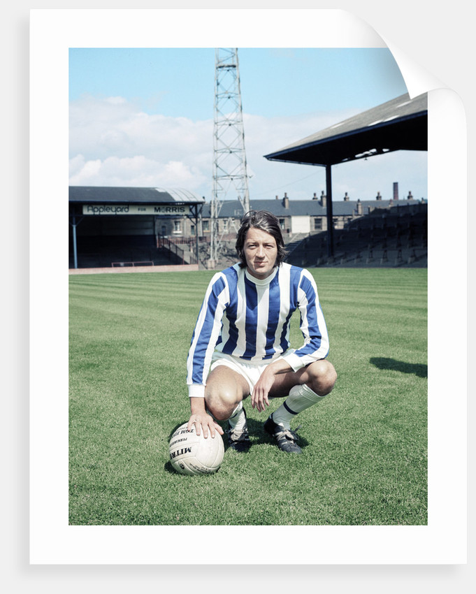 Huddersfield Town footballer Frank Worthington.July 1970. by Dewhurst