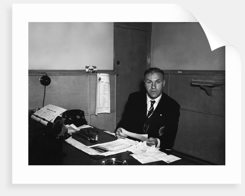 Huddersfield Town manager Bill Shankly by Staff