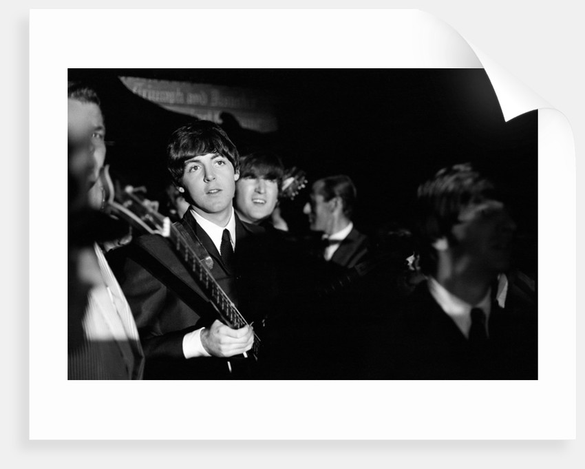 The Beatles 1964 American Tour Indianapolis 1964 by Henry Crossman