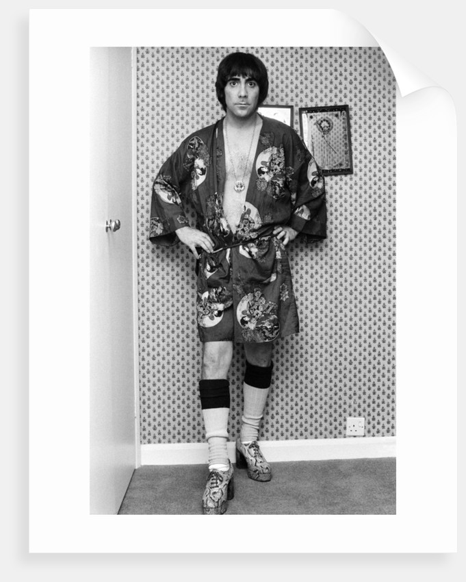 Keith Moon of The Who 1975 by Allan Olley
