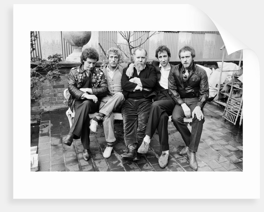 British rock group The Who 1981 by Mike Maloney
