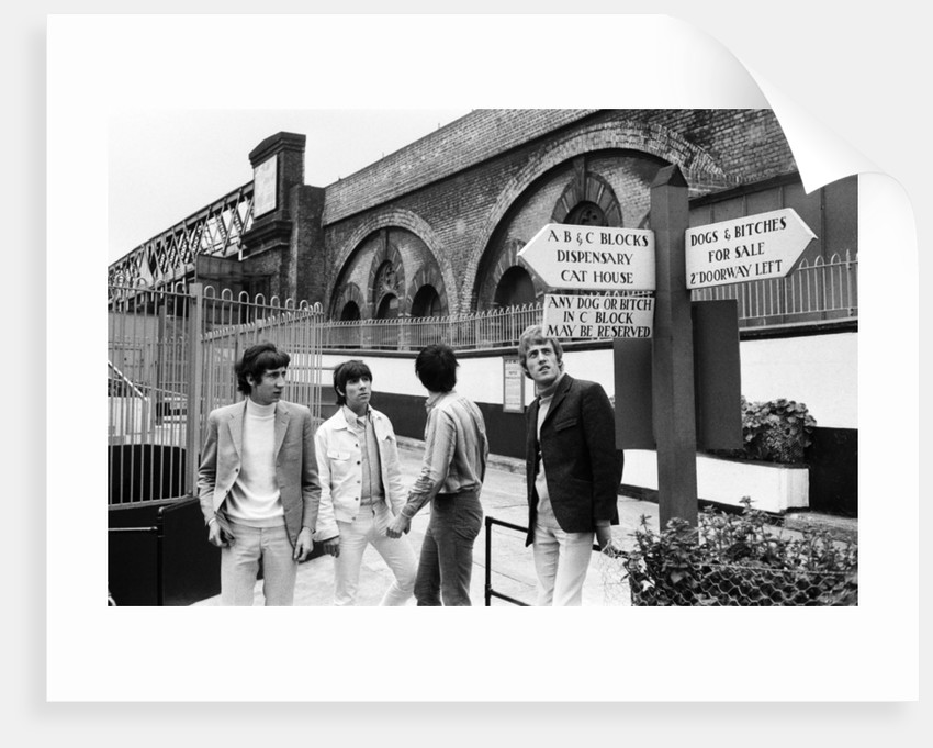 The Who rock group at Battersea by Charles Ley