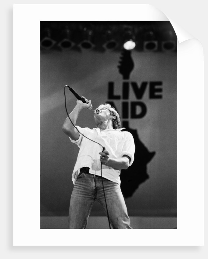 The who perform at Live Aid 1985 by Staff