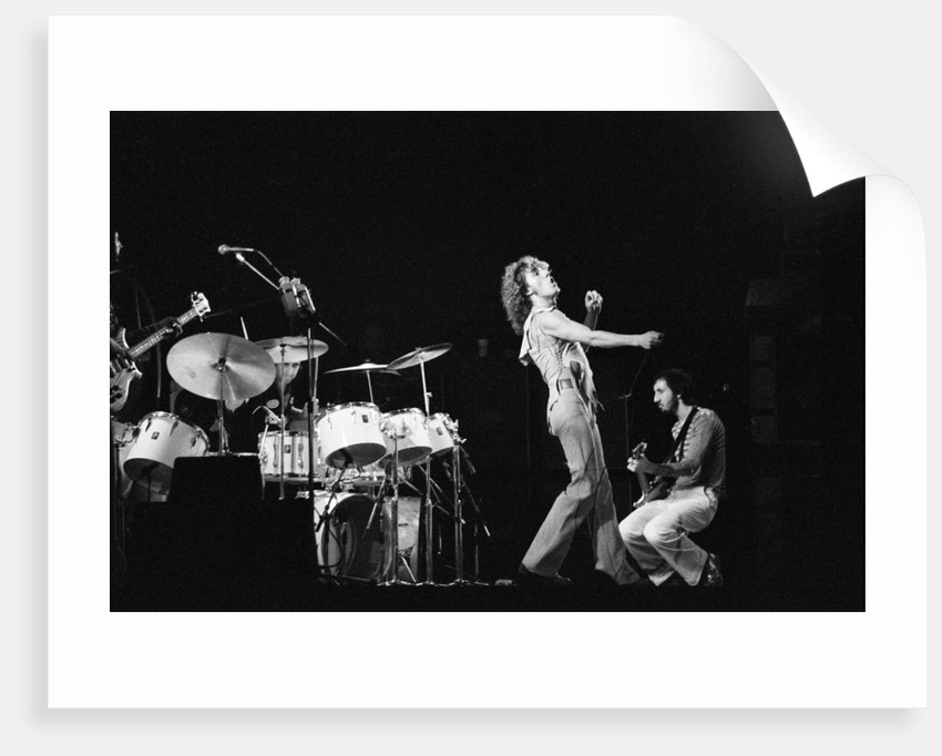 The Who concert 1975 by Tony McGee