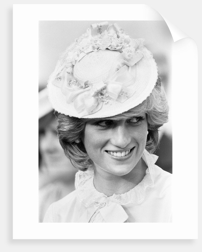 Prince Charles Princess Diana  Royal Tour 1983 by Kent Gavin