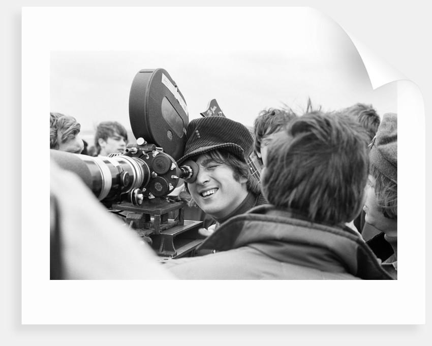 John Lennon 1965 by Maurice Tibbles