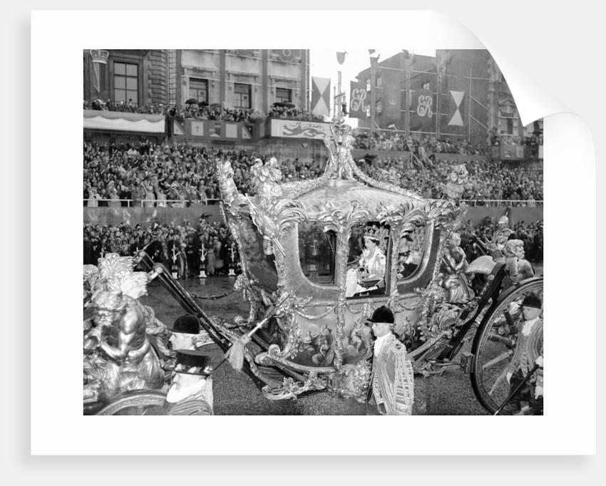 The Coronation of Queen Elizabeth II by Bela Zola
