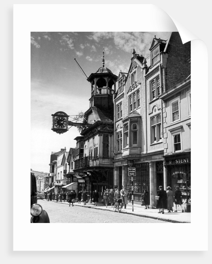 Guildford high street surrey circa 1950 by staff