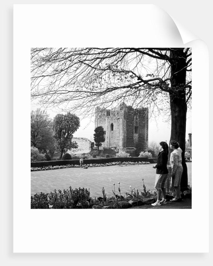 Guildford Castle, Surrey, circa 1952. by Staff