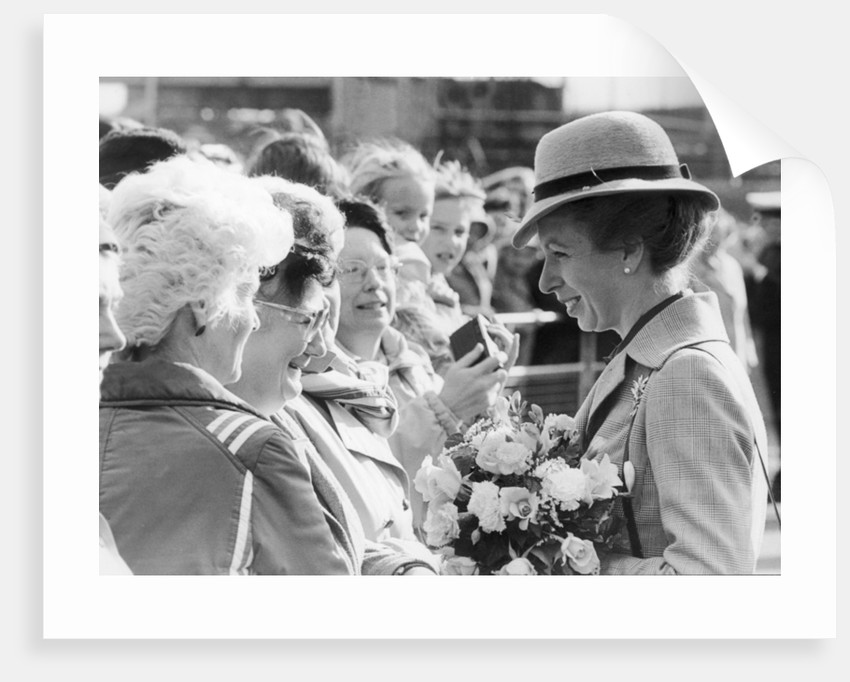 Princess Anne 1984 by Staff