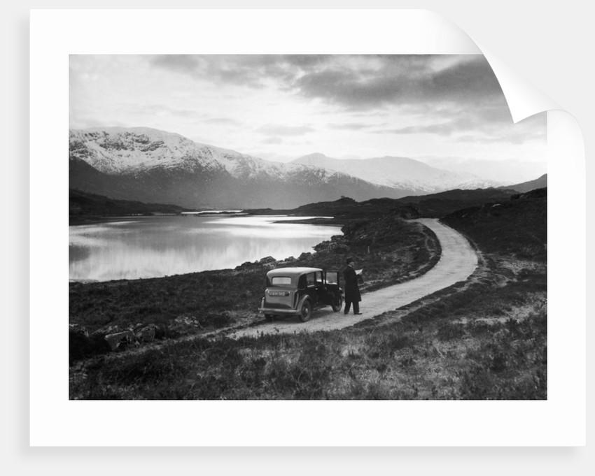 Loch Cluanie 1936 by Staff