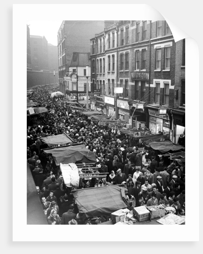 Petticoat Lane 1960 by George Greenwell