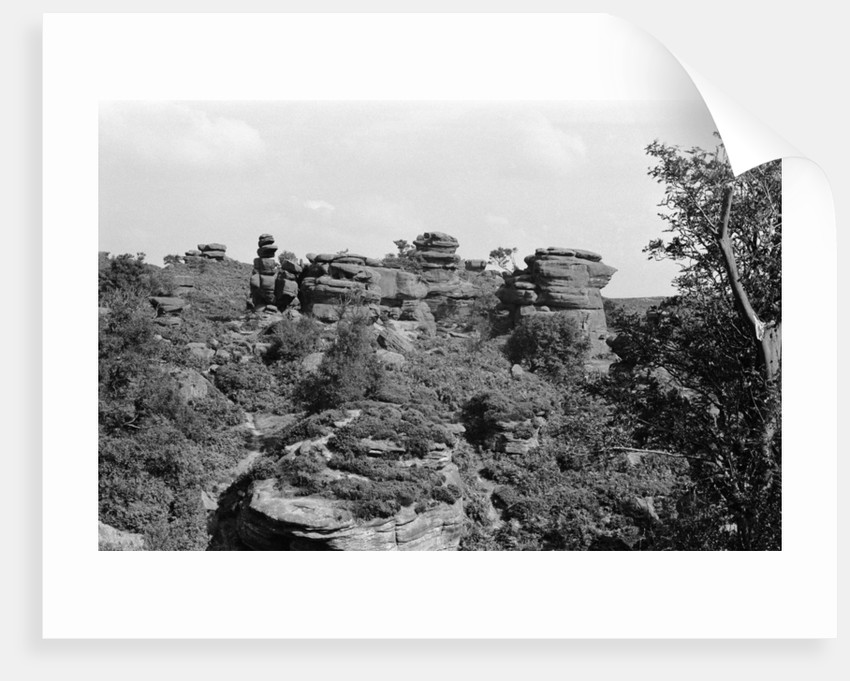 Brimham Rocks 1970 by Staff