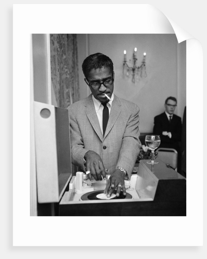 Sammy Davis Jr 1962 by Blandford