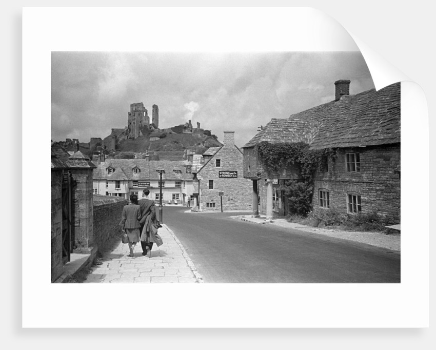 Corfe Castle by Staff