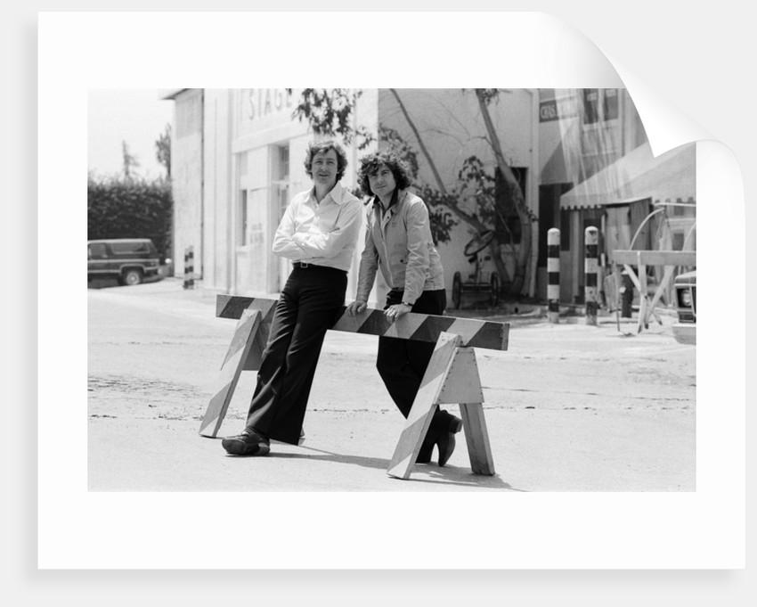 Dick Clement and Ian La Frenais, 1978 by Eddie Sanderson