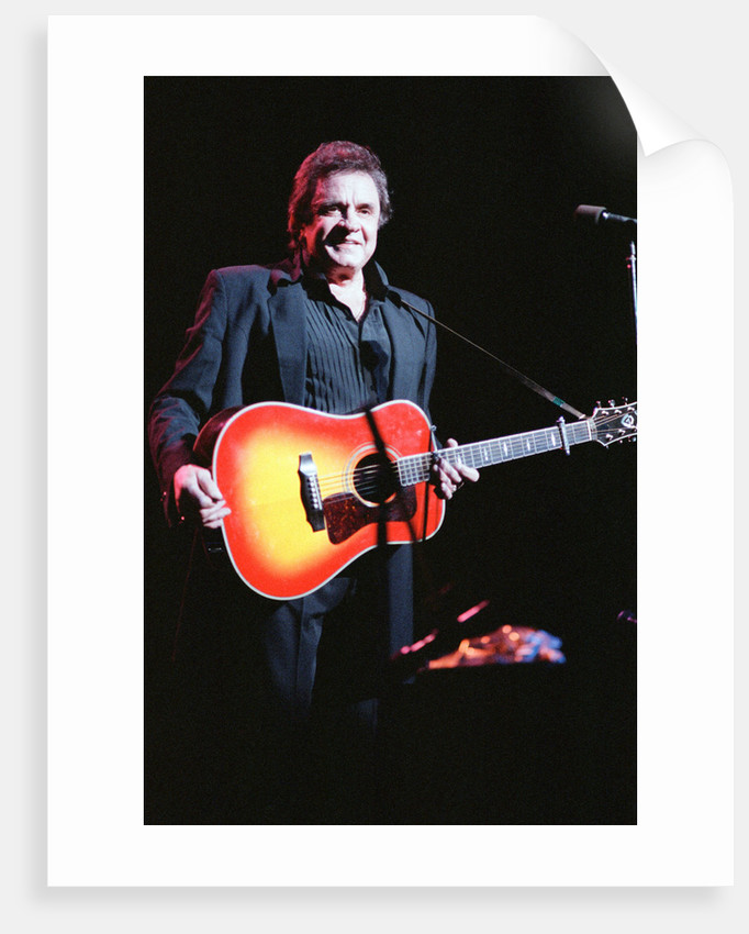Johnny Cash 1989 by Allan Olley