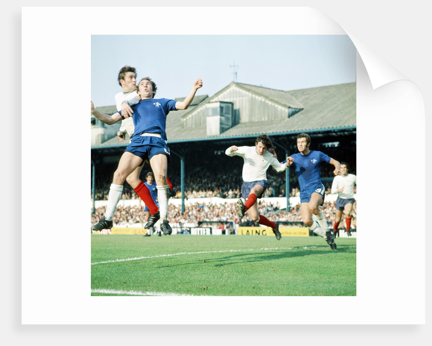 Chelsea v Derby County, 1971 by Staff
