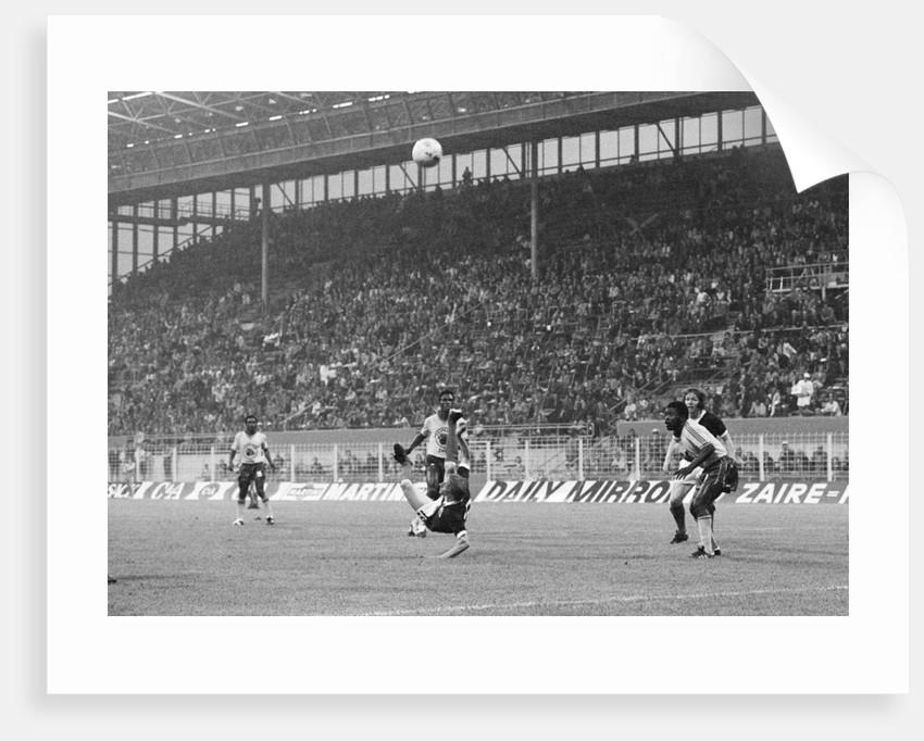 Zaire v Scotland World Cup  1974 by Monte Fresco