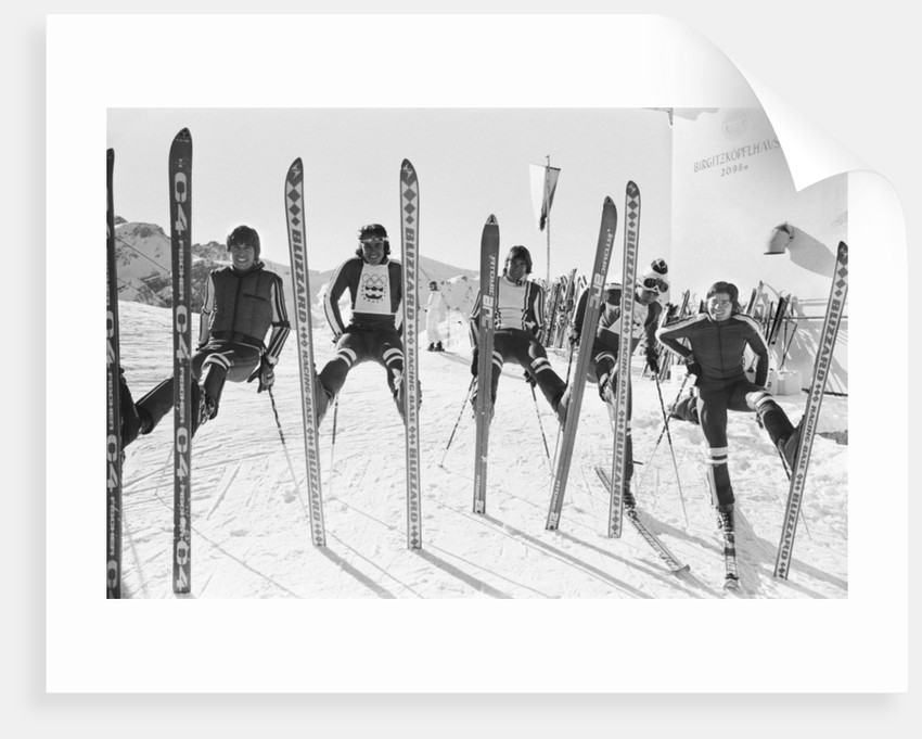 Winter Olympic games 1976 by Eric Piper