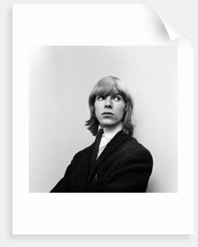 David Bowie 1965 by Alisdair MacDonald