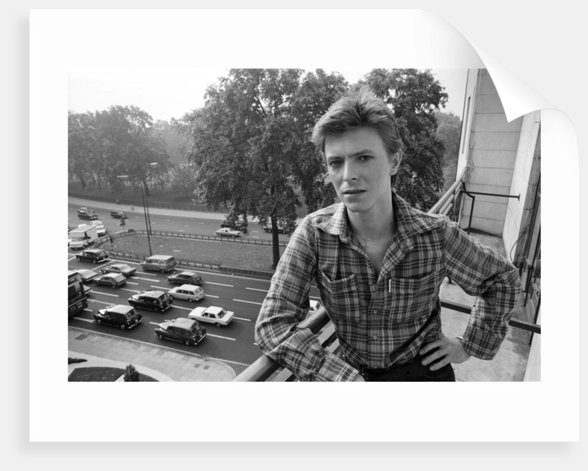 David Bowie 1977 by Mike Maloney