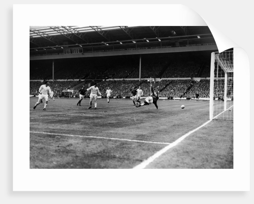 Manchester United v Leicester City FA Cup Final 1963 by Staff
