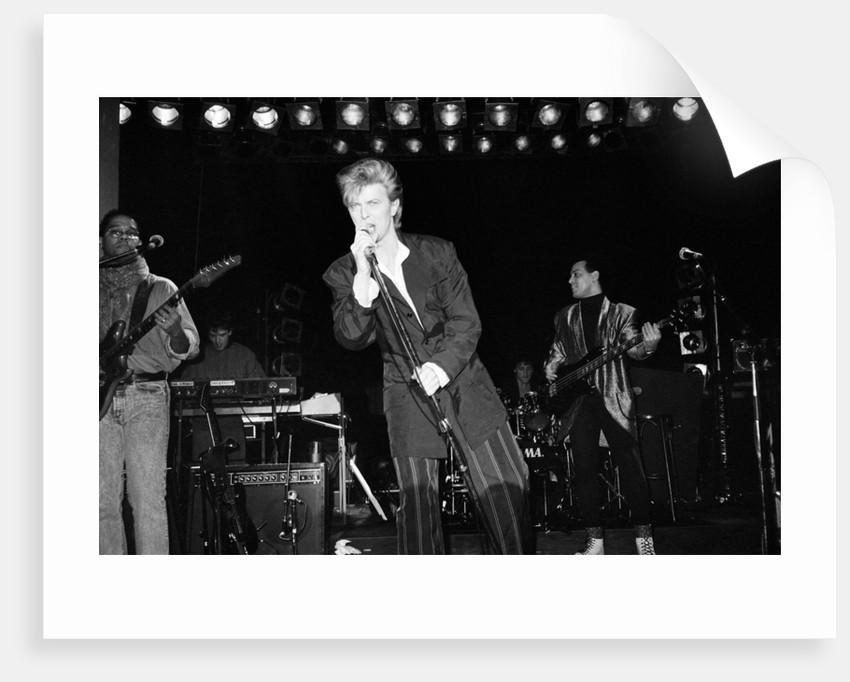 David Bowie 1985 by Burton