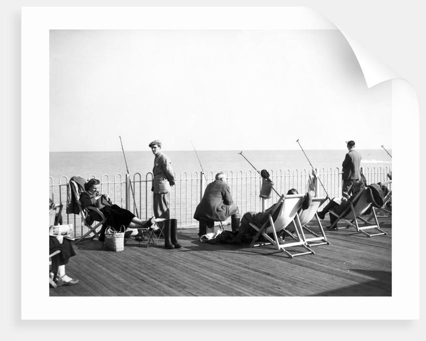 Hastings Pier, 1952. by Staff