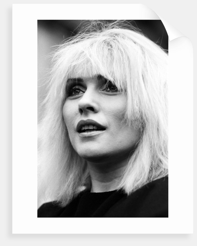 Debbie Harry, 1983 by Mike Maloney