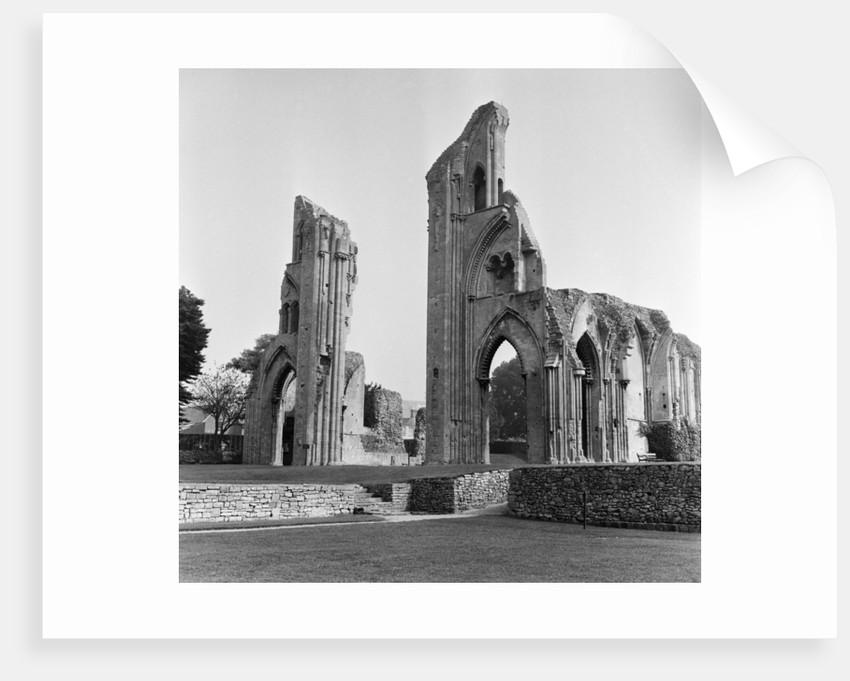 Glastonbury Abbey, 1966 by Staff