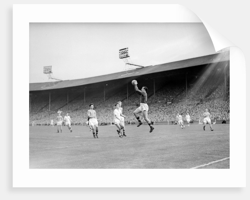 FA Cup Final 1957 by Ley Charman