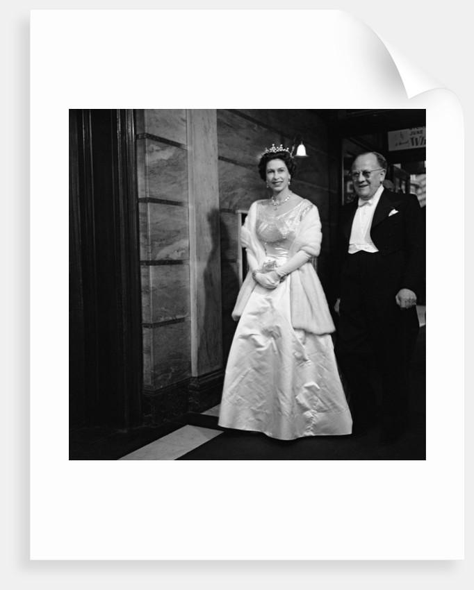 Queen Elizabeth II arrives at Royal Variety Performance by JONES