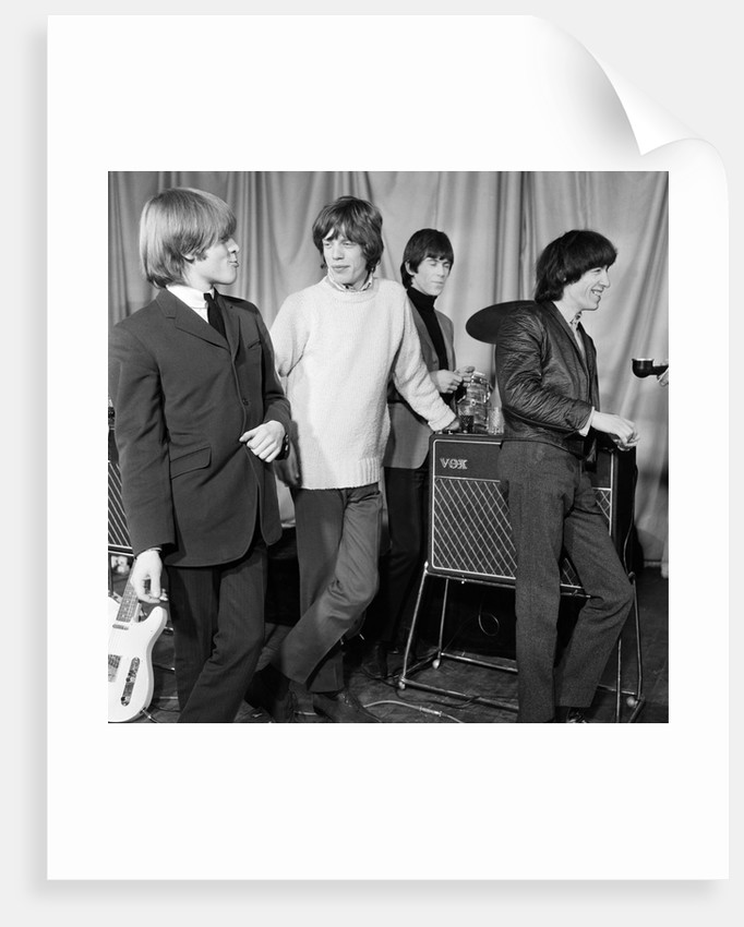 Rolling Stones 1965 Posters Prints By Daily Mirror