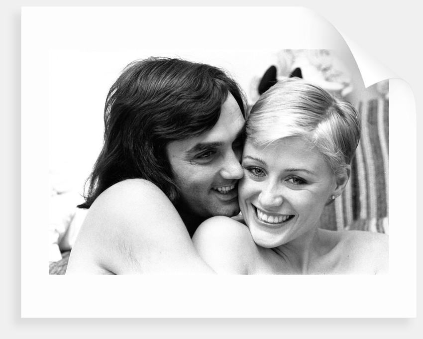George Best and his girlfriend Angela Macdonald-James by Kent Gavin