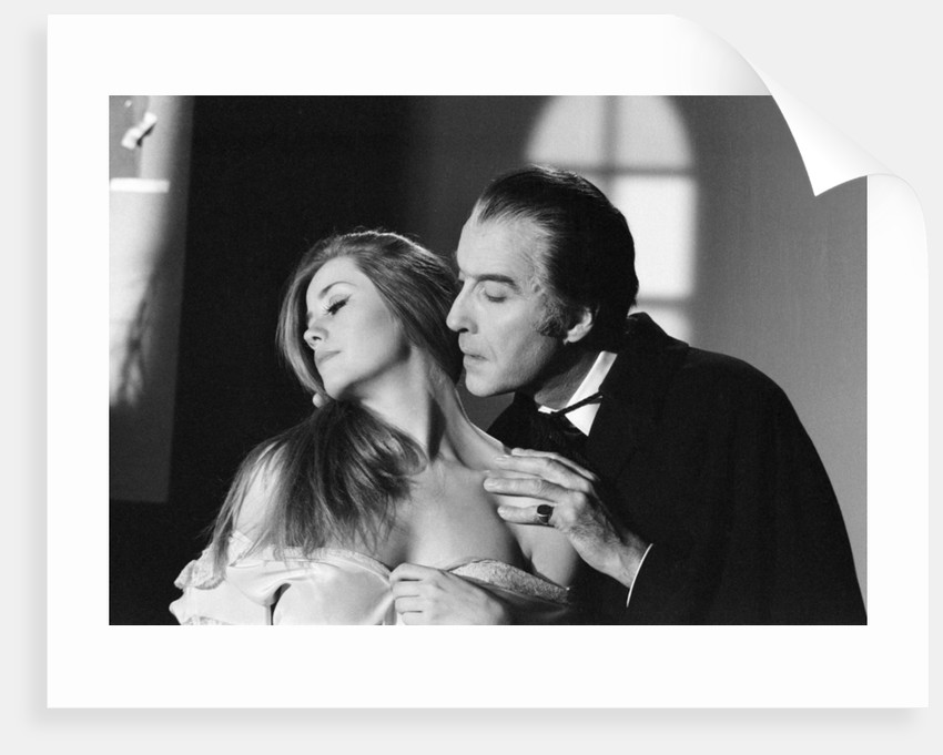 Christopher Lee by George Greenwell