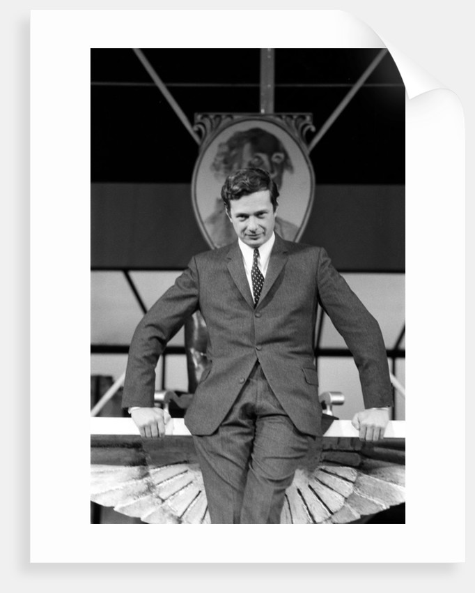 Brian Epstein pictured inside The Saville Theatre by Waters
