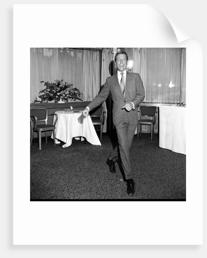 Dick Van Dyke at The Dorchester Hotel by Maurice Kaye