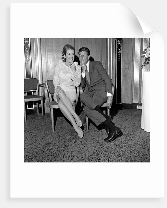 Dick Van Dyke and Sally Ann Howes at The Dorchester Hotel by Maurice Kaye