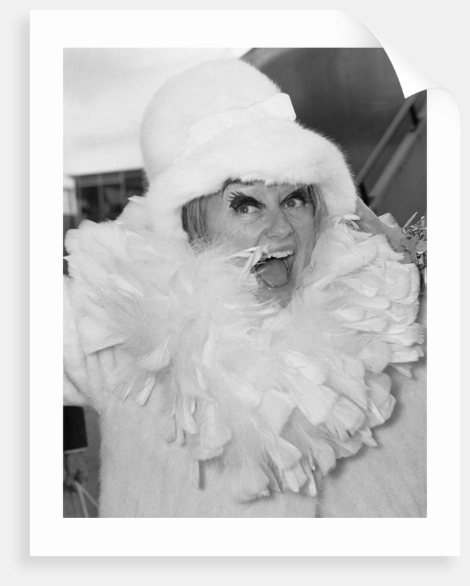 Comedienne Phyllis Diller by Vic Crawshaw