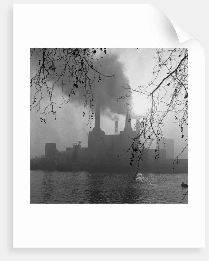 Battersea Power Station, London, 1962 by Ron Burton