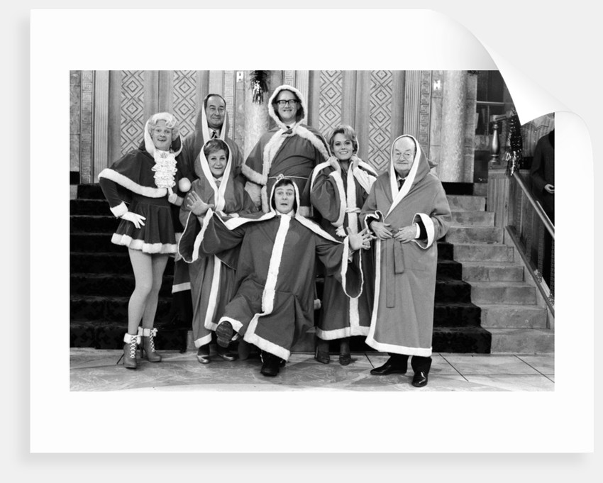 Filming of 'Are You Being Served?', 1976 by Peter Stone