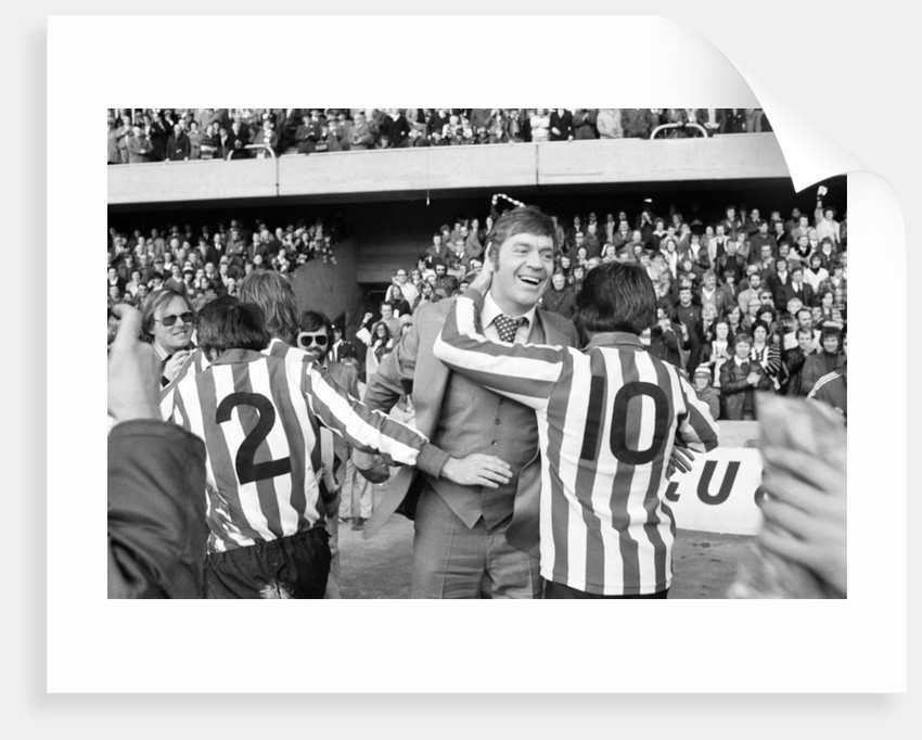 Southampton FC, 1976 by Peter Cook