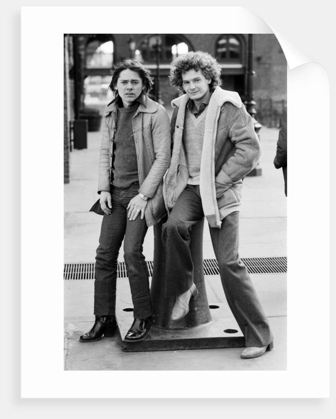 Jack Wild and Mark Lester, 1981 by Brendan Monks