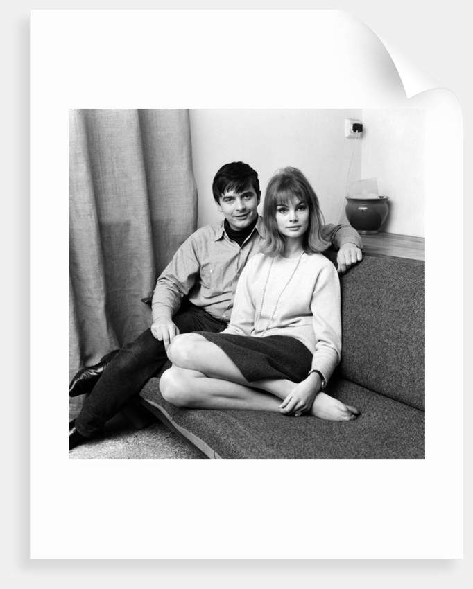 David Bailey and Jean Shrimpton, 1963 by Freddie Cole