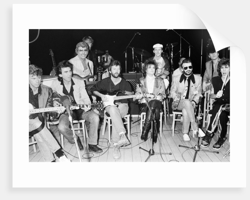 Carl Perkins Super Group, 1985 by Peter Stone