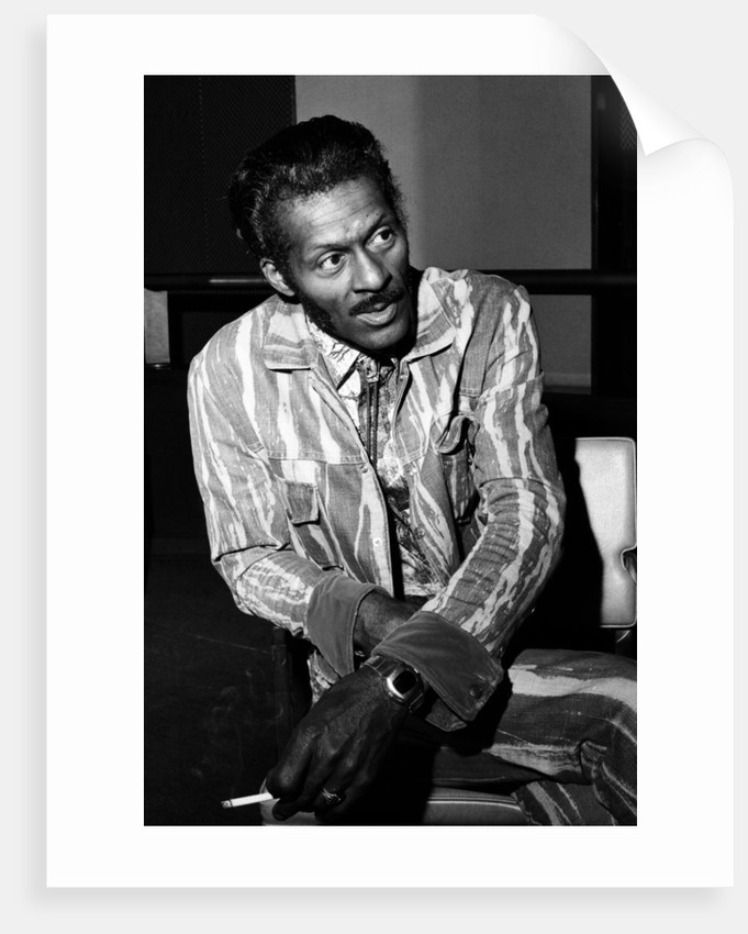 Chuck Berry, 1976 by Bill Kennedy